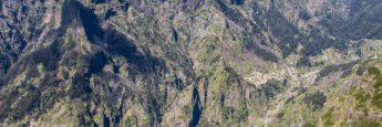 Vistas desde Mirador Eira de Serrado, Isla de Madeira