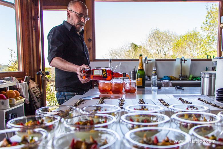 Kike Soda 917 y aperitivo Menú Alcohólico Los Llaureles