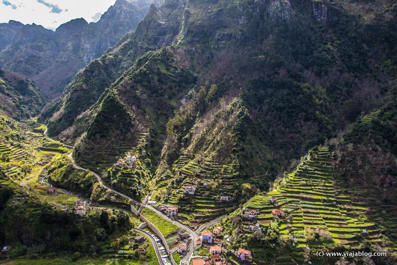 Paisaje Interior Isla de Madeira