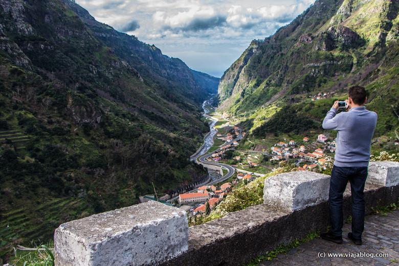 Paisajes salvajes en la Isla de Madeira