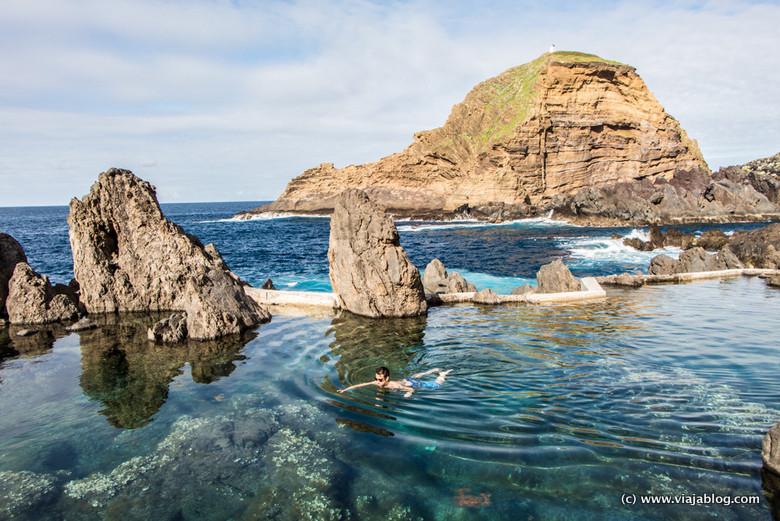Piscinas Naturales, Porto Moniz, Isla de Madeira