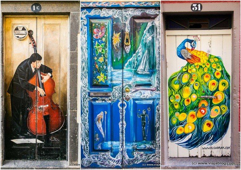 Puertas decoradas, Funchal, Madeira