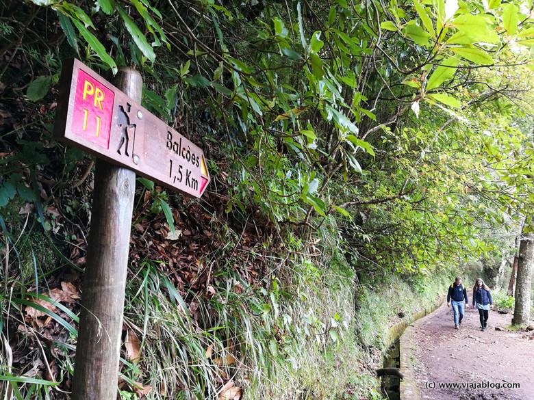 Ruta Levada dos Balcoes, Isla de Madeira