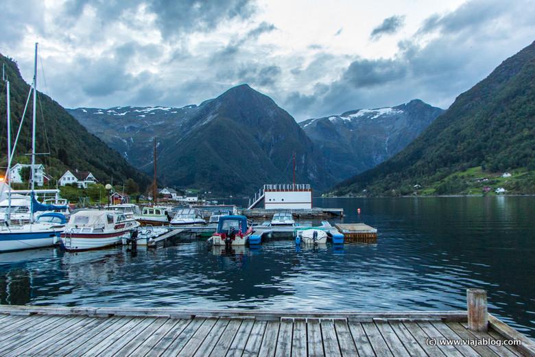 Balestrand Fiordos Noruegos