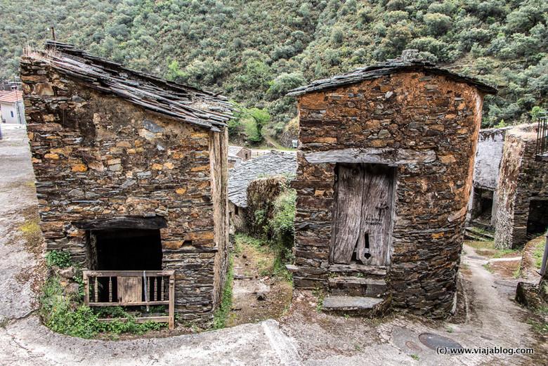 Casa de Pizarra, Las Hurdes, Cáceres, Extremadura