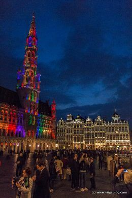 Grand Place Gran Plaza Bruselas