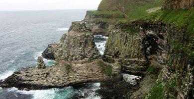 Isla de Rathlin en Irlanda del Norte