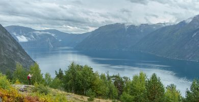 Kaupangerholten Fiordo de los Sueños Noruega
