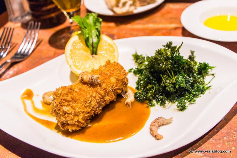 Croqueta La Quincaillerie Restaurante Bruselas