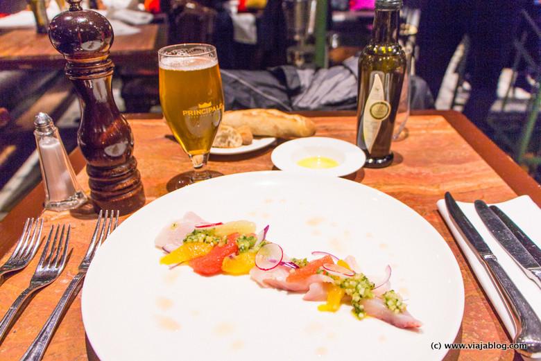 Ceviche La Quincaillerie Restaurante Bruselas