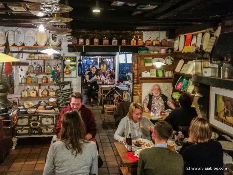 Restobières Restaurante Bruselas