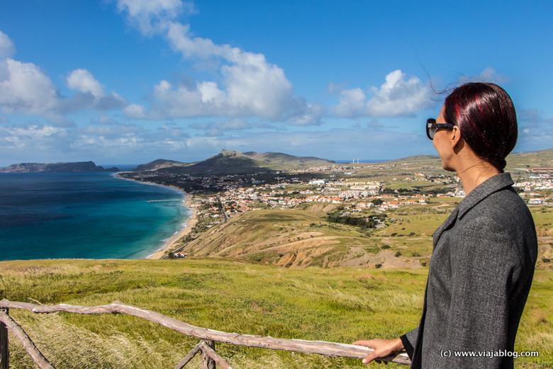 Vistas Miradouro da Portela Porto Santo Madeira