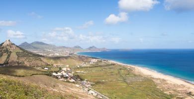 Vistas desde Miradouro das Flores Porto Santo Madeira