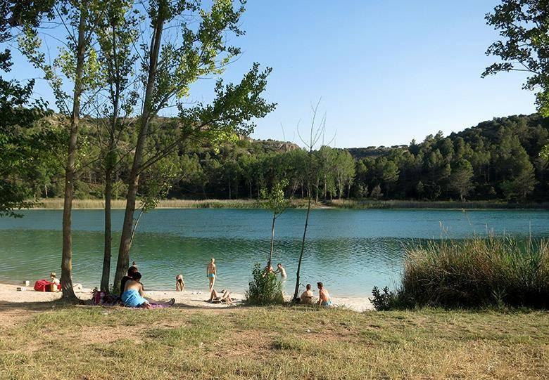 Lagunas baño Ruidera