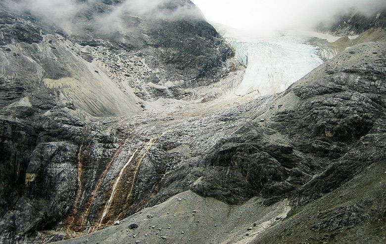 glaciar yading