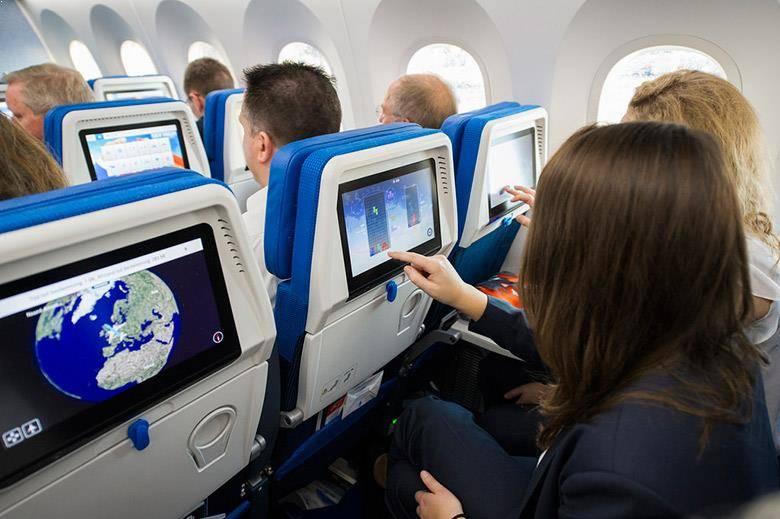Boeing 787 de KLM. Imagen de @elrincondesele