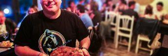 Pieza de Jamón asado, Juego de Tronos, Jornadas de Tronos, Restaurante Vinoteo