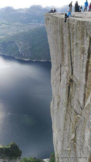 Preikestolen (Púlpito de Roca), Noruega