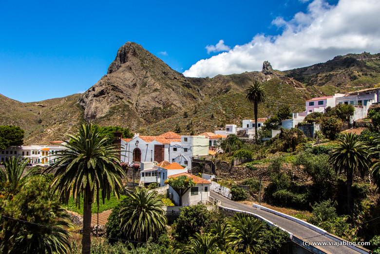 Pueblo en Anaga, Tenerife, Islas Canarias