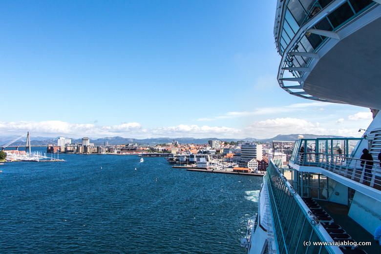 Stavanger desde crucero Pullmantur, Fiordos de Noruega