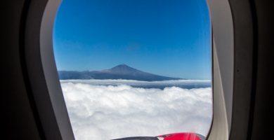 Teide desde vuelo Iberia Express a Tenerife, Islas Canarias