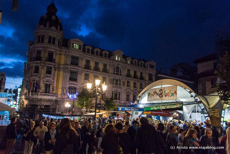 Chiringuitos Fiestas San Mateo Oviedo Asturias