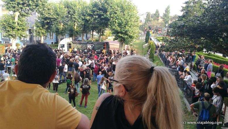 Escenario Móvil Festival Unirock Puerto de Vega