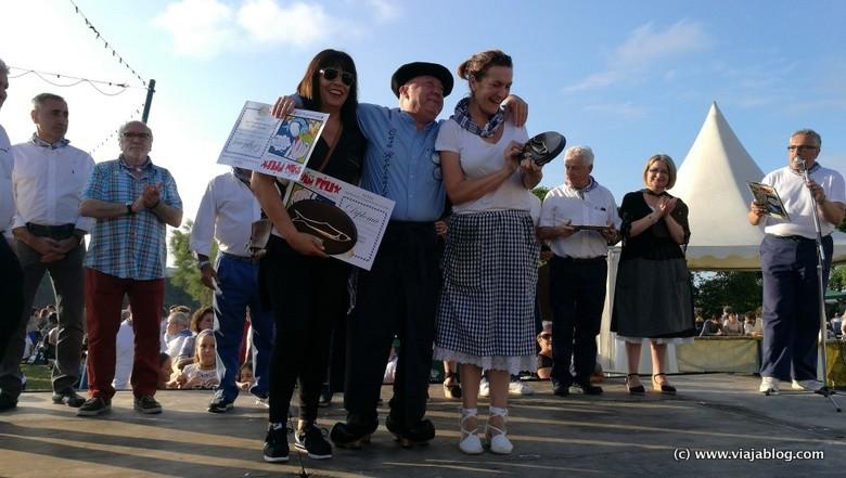Ganadores del Festival de la Sardina de Candás (Asturias)