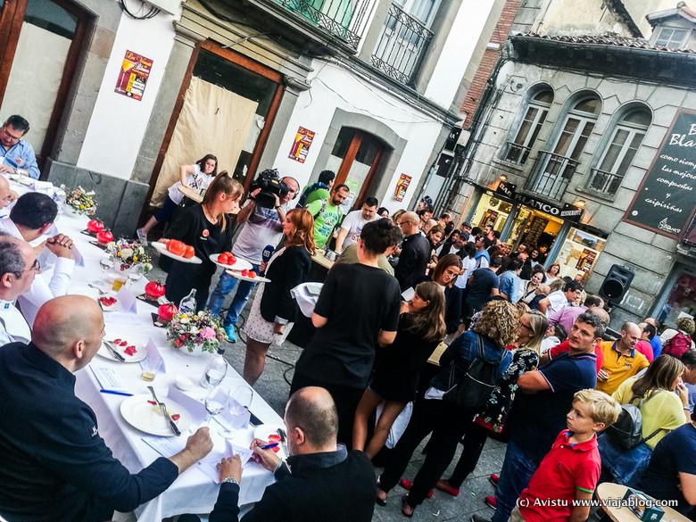 Jurado del Festival del Tomate de Huerta de Cangas del Narcea