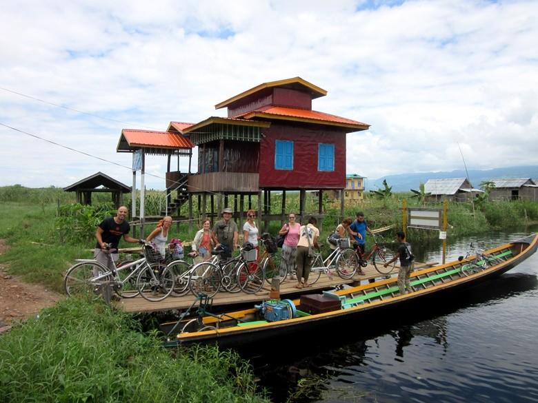 lago inle bicicletas