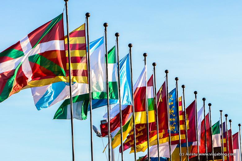 Banderas Comunidades Autónomas España