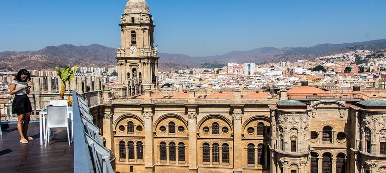 Catedral Málaga desde Hotel AC Málaga Palacio