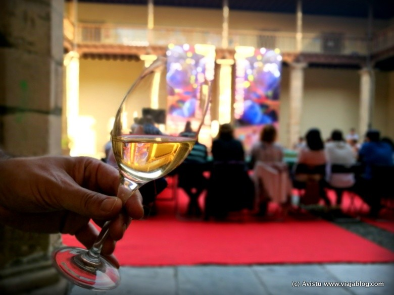 Cata de vinos, Festival Vendimia Cangas de Narcea, Asturias