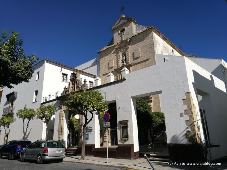 Fachada Hotel Monasterio de San Miguel, Puerto de Santa María (Cádiz)