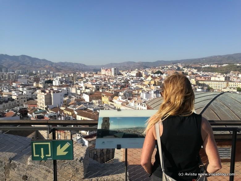 Málaga desde las Cubiertas de la Catedral