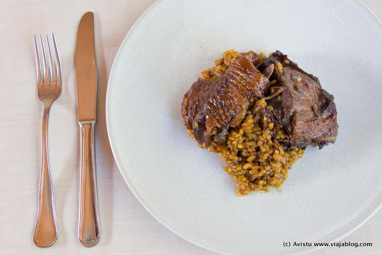Restaurante La Salgar, Plato de Pitu Caleya