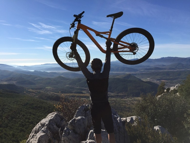 bicicleta sobrarbe