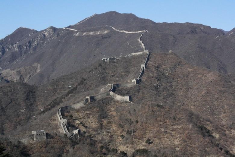 mutianyu gran muralla china pekin