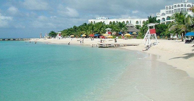 Playa Doctor´s Cave en Jamaica