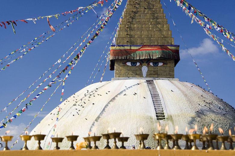 Kathmandu (Estupa de Bodnath)