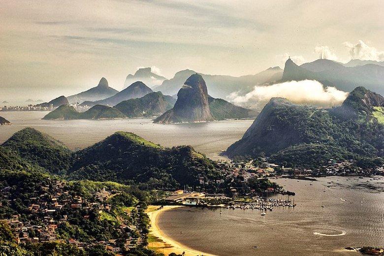 Rio de Janeiro desde Parque da Cidade