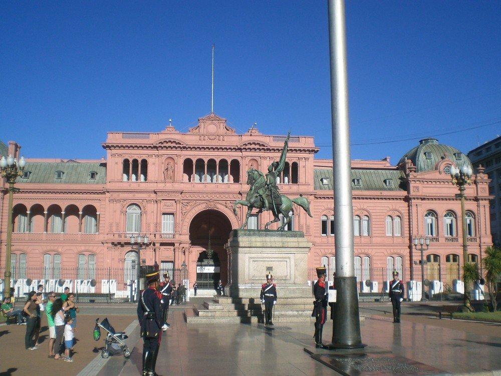 Casa Rosa en Buenos Aires