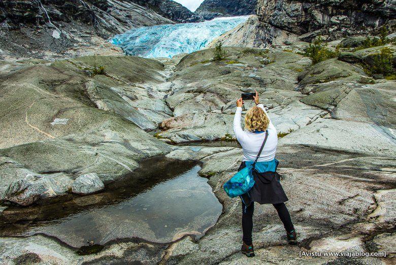 Fotografiando el Glaciar Jostedalen (Noruega)