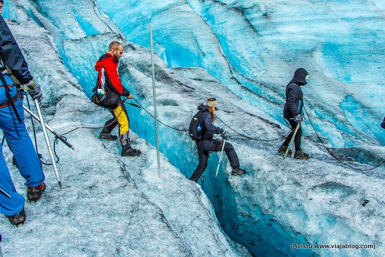 Trekking en Glaciar Jostedalen (Noruega)