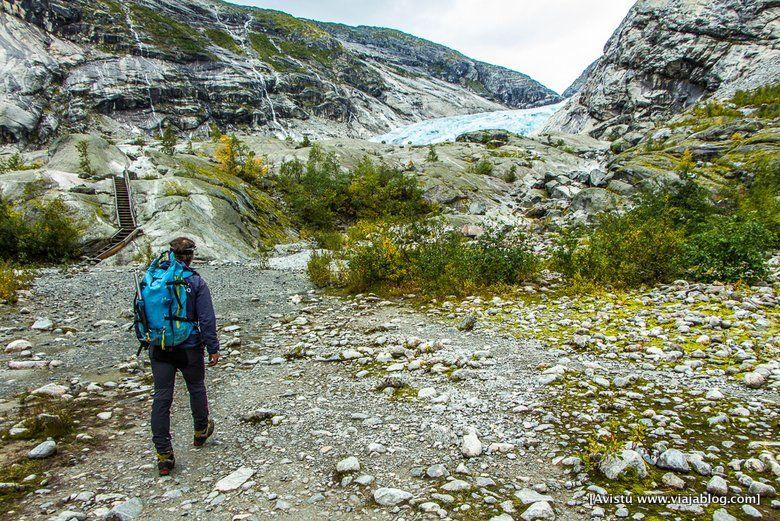 Ruta al Glaciar Jostedalen (Noruega)