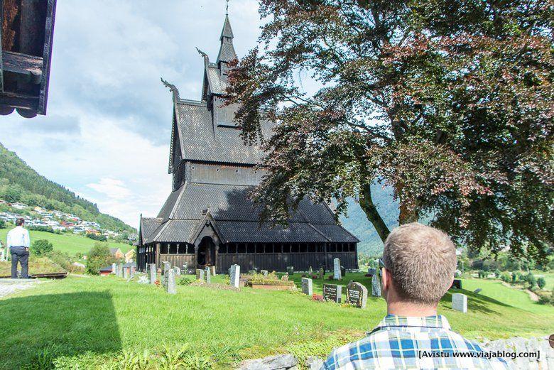 Stavkirke Iglesias Madera Noruega-008