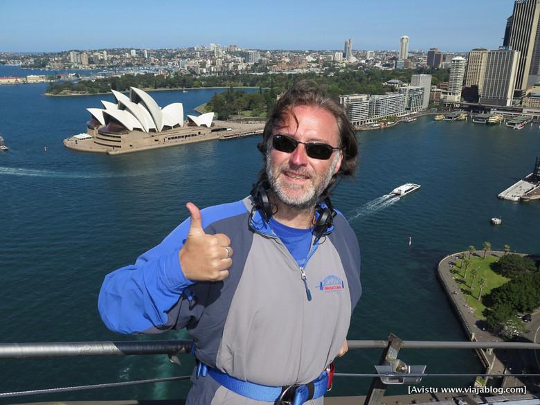 Sobre el Puente de Sidney