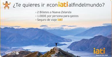 Haz click en la imagen y participa en el sorteo de un viaje para dos personas a Nueva Zelanda