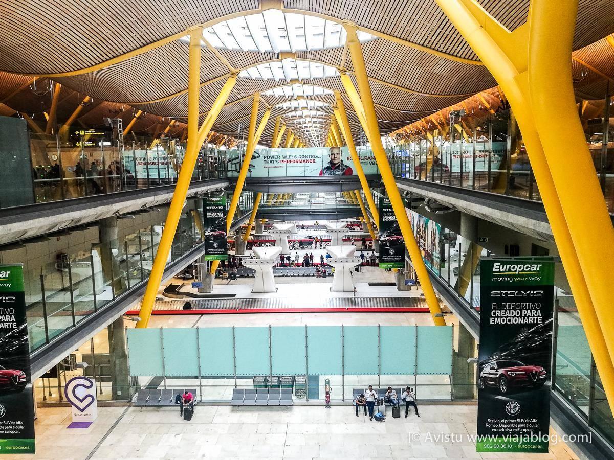 T4, Aeropuerto de Madrid - Barajas
