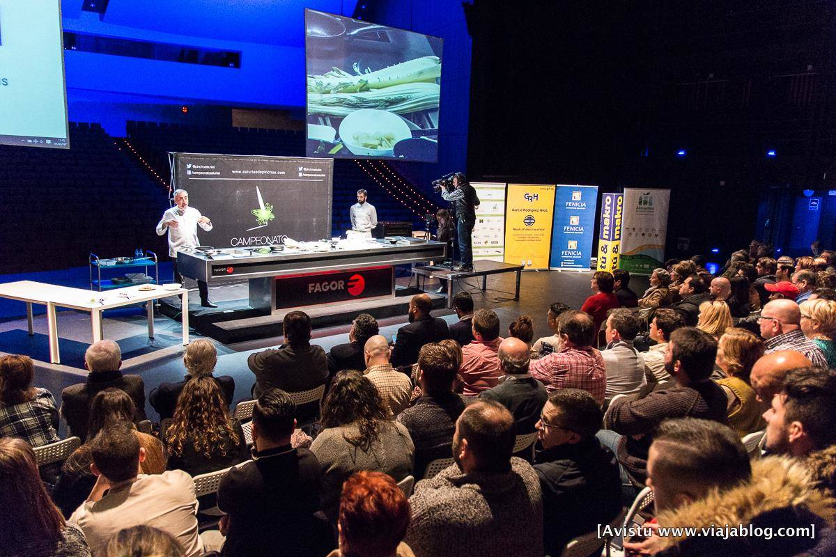 II Microclinic, Campeonato de Pinchos y Tapas de Asturias